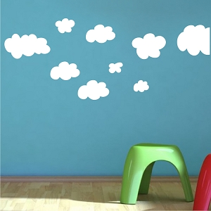 Clouds Wall Mural Decals