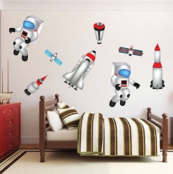 Kids Room Space Decals