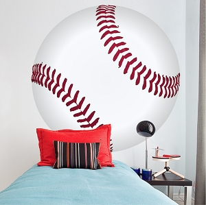 Large Baseball Wallpaper Decal