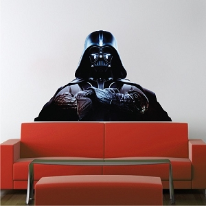 Dark Side Wall Mural Design