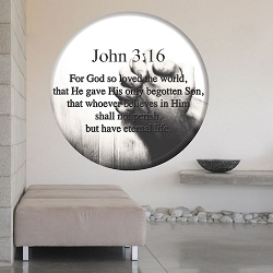 John 3:16 Wall Mural Decal