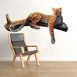 Leopard Wall Mural Decal