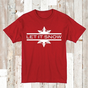 Let It Snow Shirt Tee Tees Baby Bodysuit