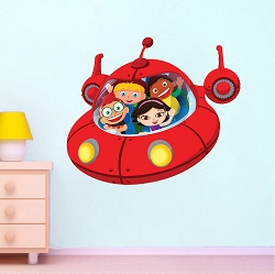 Little Einsteins Spaceship Wall Decal