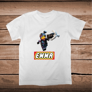 Lego Lucy Custom Tee With Name
