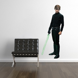 Light Side Man Wall Decal