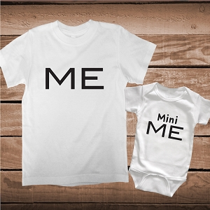 Me Mini Me Matching Shirts or Onesies