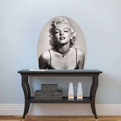 Marilyn Monroe Wall Mural Decal