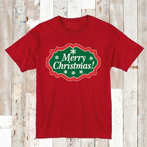 Merry Christmas Tee T-Shirt Clothes