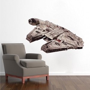 Lightning Fast Space Ship Wall Decals