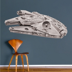 Space Ship Wall Decor Decals