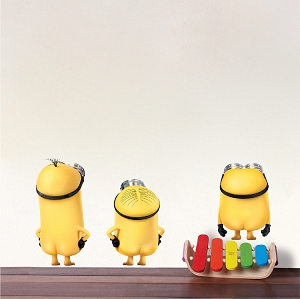 Minions Wall Decal Mural