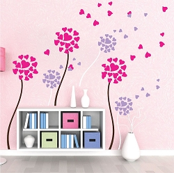 Dandelion Wall Mural Decal