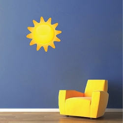 Sun Wall Mural Decal