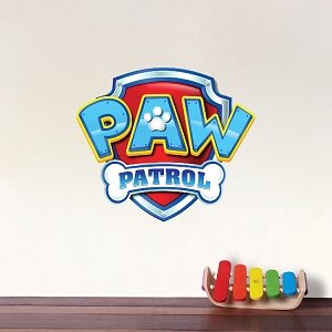 Paw Patrol Logo Wall Decal