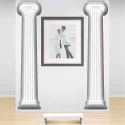 Pillar Wall Mural Decal