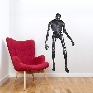 Robot Vinyl Wall Decal