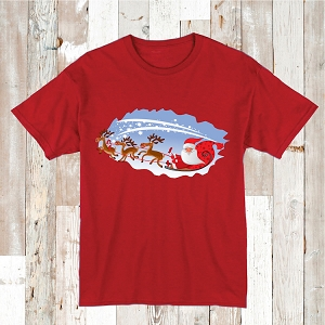 Christmas T-Shirts Santa Tees