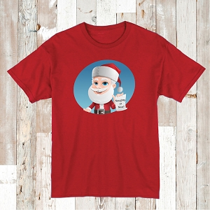 Naughty or Nice Shirt Holiday Tees Christmas T-Shirt Personalized Gifts