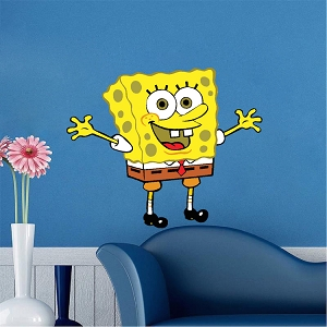 Spongebob Bedroom Decal Mural