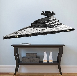 Star Ship Vinyl Wall Decal