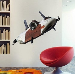 Space Ship Wall Graphic Decal