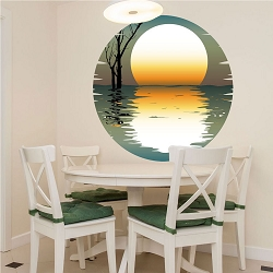 Sunset Wall Mural Decal