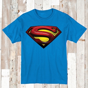 Superman Logo Tees and Onesies
