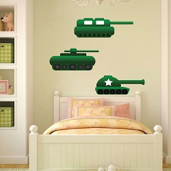 Tank Wall Mural Decal