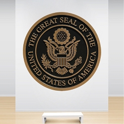 The Great Seal Wall Mural Decal
