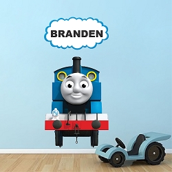 Thomas The Train Custom Wall Decal