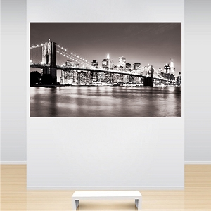 New York Bridge Wall Mural Decal