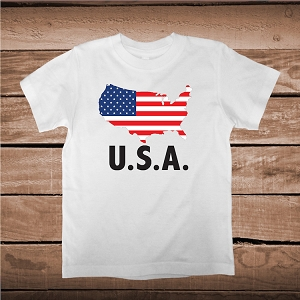 USA Flag Custom Shirt and Onesies
