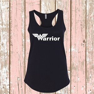 Wonder Woman Warrior T-Shirt Tee Superhero Shirt