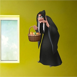 Witch Wall Mural Decal