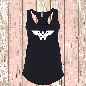 Wonder Woman T-Shirt Tee Superhero Shirt