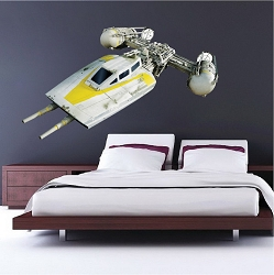 Wing Ship Wall Mural Decal