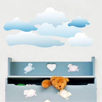 Clouds Wall Mural Decal