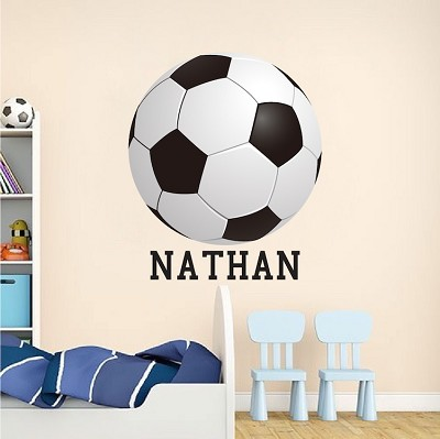 Soccer Bedroom Wall Graphic