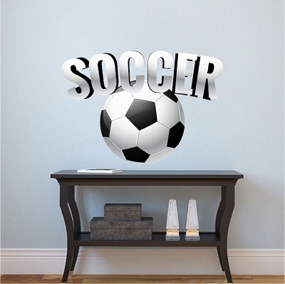 Soccer Wall Decal Mural