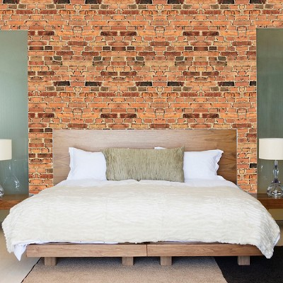 Small Brick Wallpaper Decal