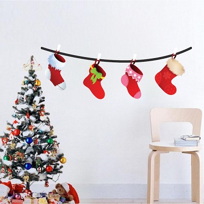 christmas wall decals decoration - Christmas Wall Decal