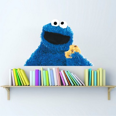 Cookie Monster Wall Mural Decal