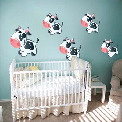 Cow Wall Mural Decals