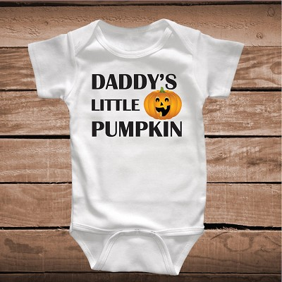Daddy's Little Pumpkin Holiday Onesie or Tee
