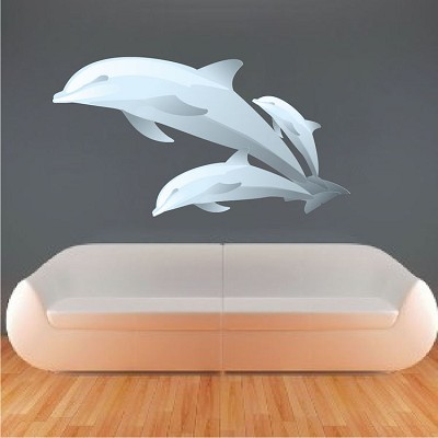 Dolphin Wall Mural Decals