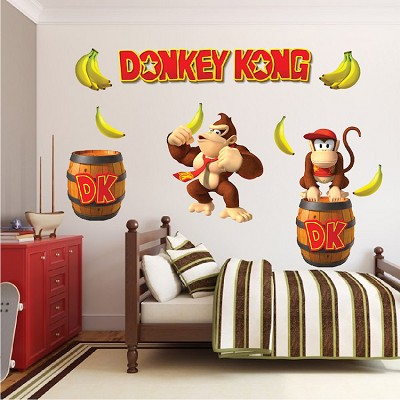 Donkey Kong Wall Mural Decal