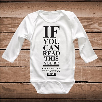 3030b6ae1 Funny Baby Shower Gifts Infant Clothes _ Funny Onesies _ Baby Clever T-shirt  _ Adorable Infant Outfit _ Unique Onesie _ Prime Decals