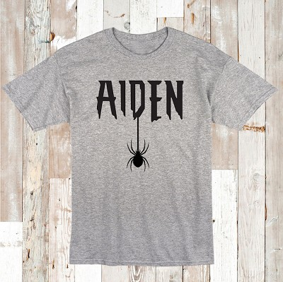 Spider Custom Name Tee or Onesie