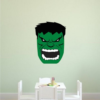 Screaming Face Wall Decal Graphic